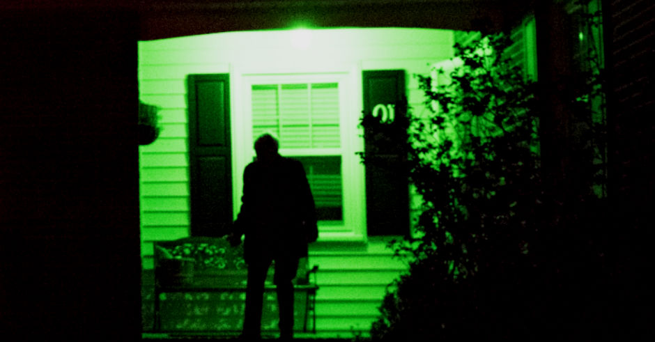 Neighbor With A Green Porch Light