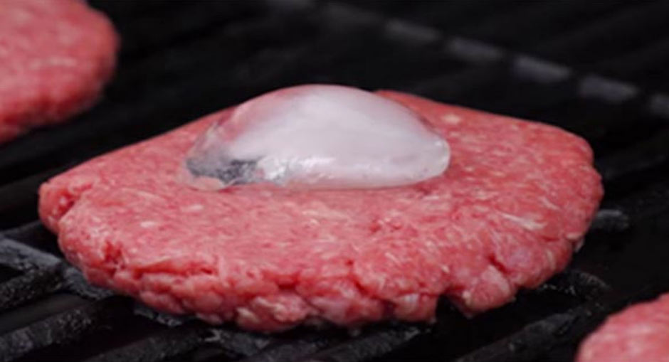 After Seeing Why He Places An Ice Cube On His Burger When Grilling, I'll Never Make One Any Other Way Again